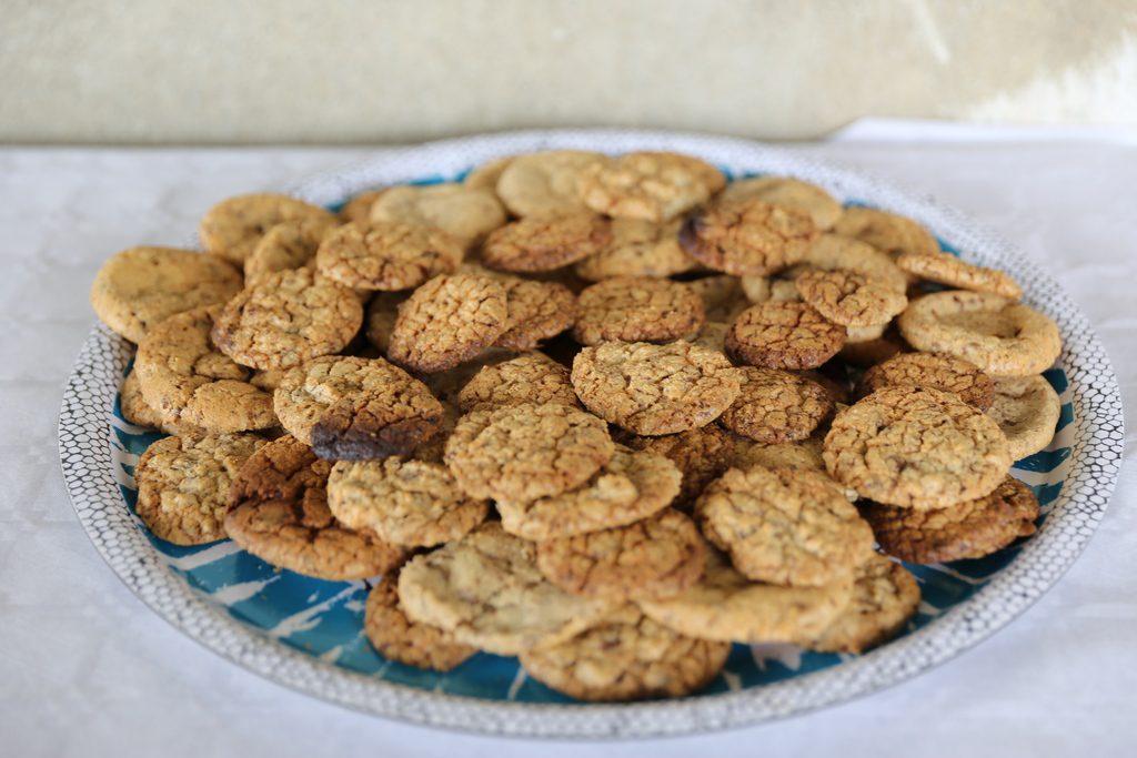 Cookies réalisés par les enfants
