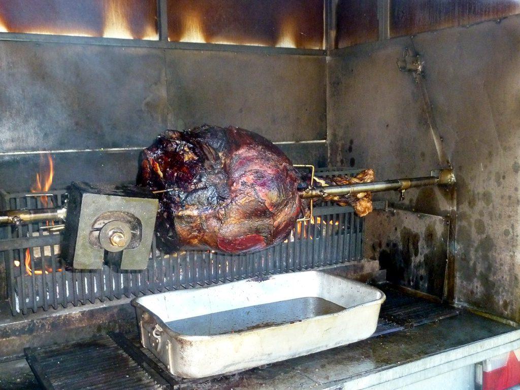 70 kg de bœuf à manger !