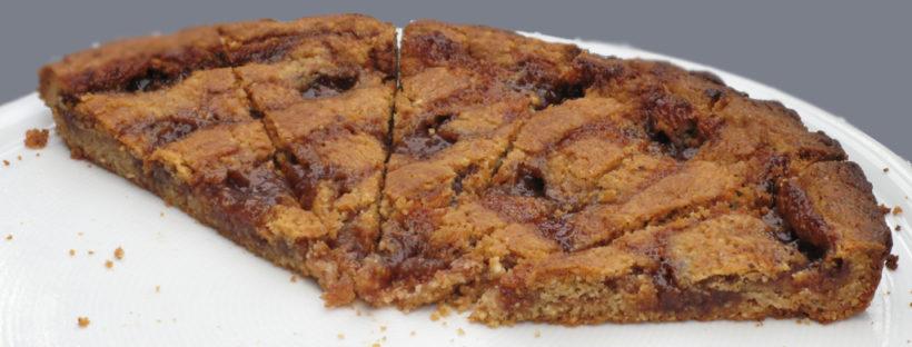 Linzer torte de Sylvie P. à l'apéritif dînatoire de Bonneville